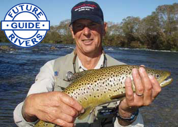 Gore Fly Fishing Guide Barry Perkins sopporting Future Rivers!