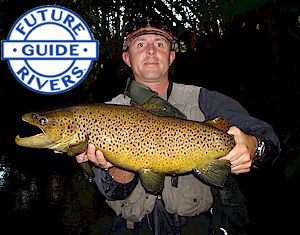 Guide Miles Rushmer jions Future Rivers