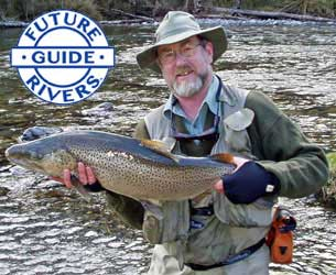Nelson Fishing Guide Tony Entwistle - Supporting Future Rivers